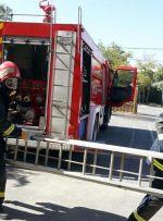 نجات ۱۵ نفر در حادثه آتش سوزی یک هتل در اهواز