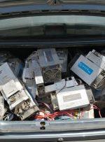 ۴۴ دستگاه استخراج ارز دیجیتال در اهواز کشف شد