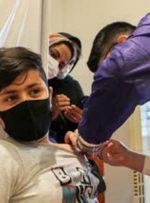 واکسینه شدن 12تا 17 سال در خوزستان